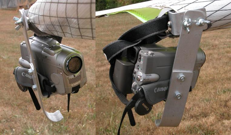Wingtip Video Camera Mount